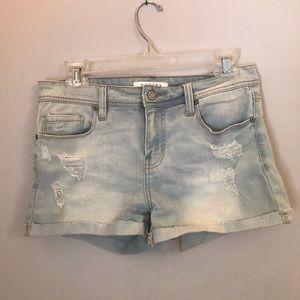 Nordstrom Euboea Jean shorts